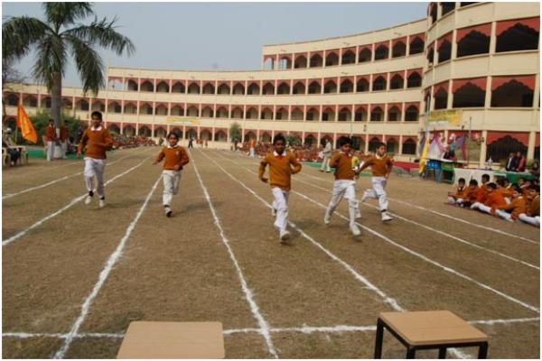 The students participated in 100 meters Race
